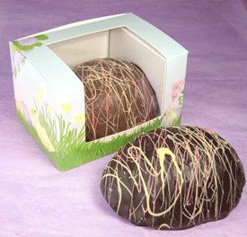 Coconut Cream Easter Egg
